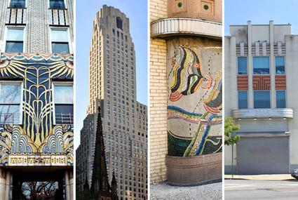 19 of New York City's Hidden Art Deco Gems, Mapped | urban class | Scoop.it