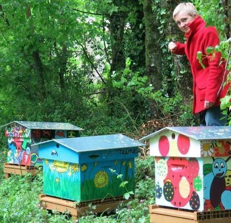Ruchers communaux : ça bourdonne déjà à Vouillé   Le monde des abeilles   Scoop.it
