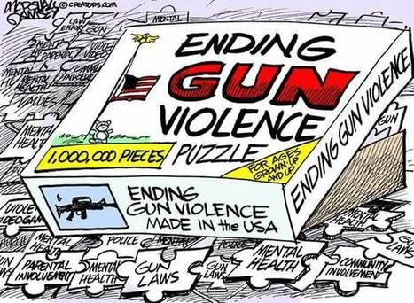 Gun violence puzzle | The US Gun Debate | Scoop.it