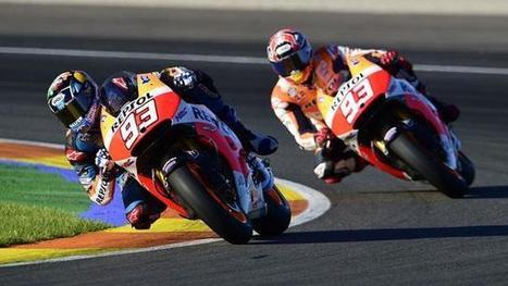 Alex Marquez Takes Marc's MotoGP bike For A Spin | California Flat Track Association (CFTA) | Scoop.it