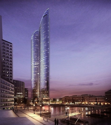 HOK's Hertsmere House Will Be the Tallest Residential Tower in Western Europe | Innovative & Sustainable Building | Scoop.it