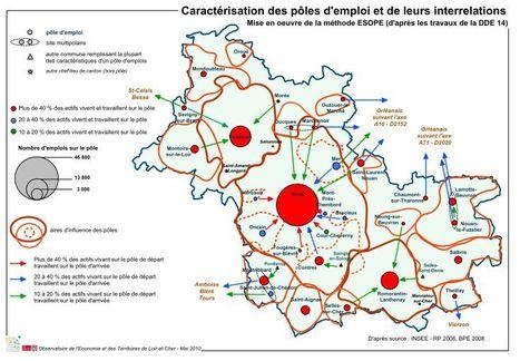 Les nouanais travaillent plutôt dans le Loiret   Autour de Nouan-le-Fuzelier   Scoop.it