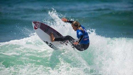 Coupe de France de Surf :Pauline Ado s'impose sous le soleil de Bidart | Cote-basque way of life | Scoop.it