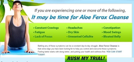 Aloe Ferox Cleanse Review - Get A Perfectly Clean Body Now! | cedrick wigton | Scoop.it