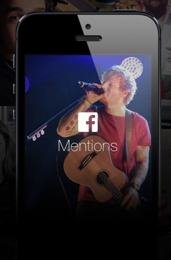 "Facebook Launches ""Mentions"" App Just For Musicians & Celebrities 