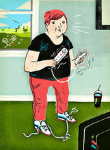 Can 'Exergames' Cure Young Couch Potatoes?   Health for Teens   Scoop.it