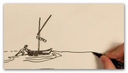 """Ernest Hemmingway's """"the old man and the sea"""" Animation 