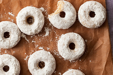 Mini Cake Doughnuts Recipe | Epicurious.com | my life | Scoop.it