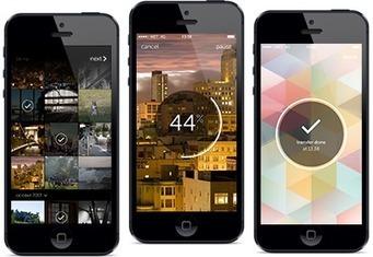 WeTransfer | Benchmark Mobile User Interface | Scoop.it