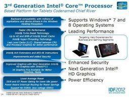 Intel destine aussi ses puces basées sur Ivy Bridge aux tablettes sous Windows 8   Entreprise 2.0 -> 3.0 Cloud-Computing Bigdata Blockchain IoT   Scoop.it