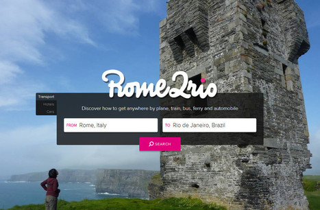 Rome2rio: discover how to get anywhere | Notebook | Scoop.it
