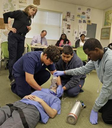 Resurgence of Vocational Education Shows Public Safety Careers to U.S. Students | Firefighter Nation | Great Teachers + Ed Tech = Learning Success! | Scoop.it