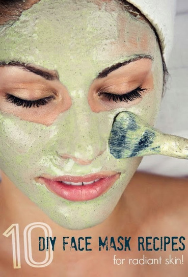 10 Homemade Face Mask Recipes #skin_care | Hairstyle Tutorials | Scoop.it