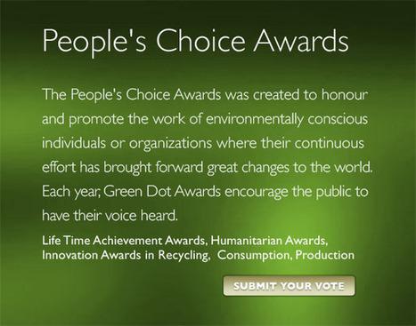 Green Dot awards™ | The Integral Landscape Café | Scoop.it