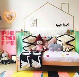 Idées pour décorer les murs d'une chambre d'enfant | picslovin | Scoop.it