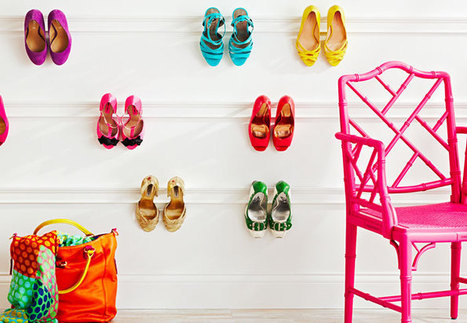 Creative ways of organizing your shoes – My Shoe Confession | myshoeconfession | Scoop.it