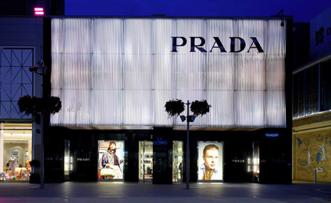 Prada's latest retail tribute to artist Carlos Cruz-Diez | Fashion | Wallpaper* Magazine | Tracking Transmedia | Scoop.it