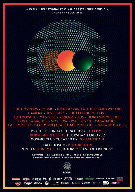 La programmation complète du Paris Psych Fest | Sourdoreille | News musique | Scoop.it