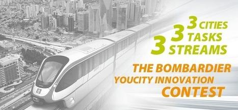 Bombardier YouCity Contest | Crowdsourcing Contests | Scoop.it