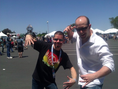 Just doing raps with Eben of @raspberry_pi at Maker Faire, nbd http://yfrog.com/gyg1oowfj | Raspberry Pi | Scoop.it