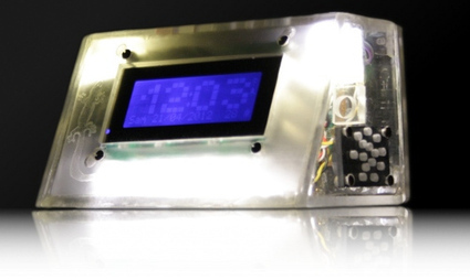 Sunrise alarm clock uses DCF77 for perfect time | Hackaday | Scoop.it