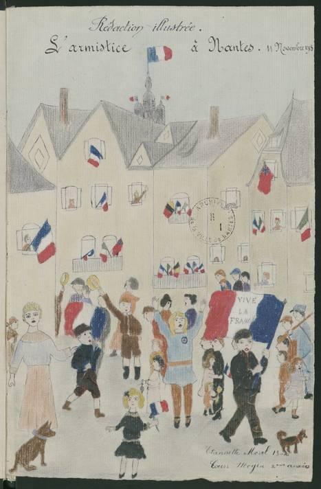 Des ressources en ligne : les rapports des écoles, 1914-1918 - [Archives municipales de Nantes] | Histoire 2 guerres | Scoop.it