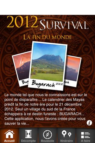 2012 Survival – Une nouvelle aplication iPhone spécial Bugarach | la-fin-du-monde.fr | Bugarach | Scoop.it