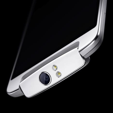 La phablette Oppo N1 est dotée d'un capteur 13 megapixels avec un système unique pivotant | Geeks | Scoop.it