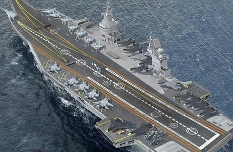 Russia Offers India Nuclear-Powered Supercarrier   Géopoli   Scoop.it