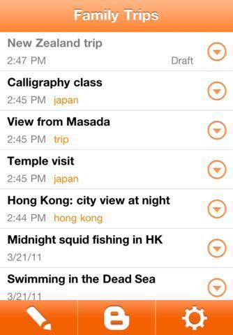 Nouvelle version de l'application Blogger pour iPhone | toute l'info sur Google | Scoop.it