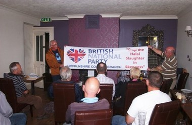 Skegness Halal Abattoir Campaign Launch   The Indigenous Uprising of the British Isles   Scoop.it