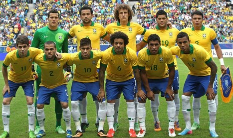 Brazil National Football Team Squad 2014 | FIFA World Cup 2014 | Scoop.it