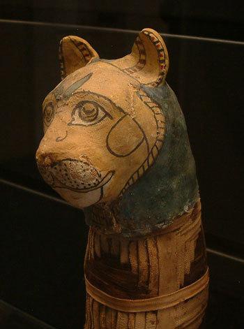 Le chat en Egypte antique, un animal sacré | Chats | Scoop.it