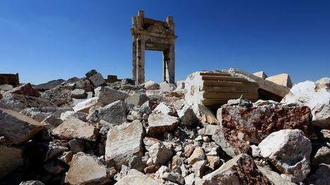 Syrie: le groupe EI a dévasté les plus belles ruines de Palmyre | Bibliothèque des sciences de l'Antiquité | Scoop.it