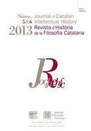 Revista d'Història de la Filosofia Catalana (Journal of Catalan ... | Filosofia | Scoop.it