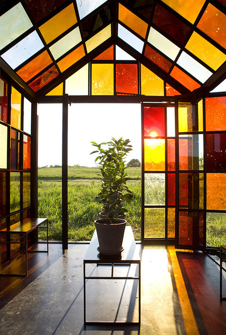A Hilltop Solarium Made with Panels of Caramelized Sugar by William Lamson | Colossal | What Surrounds You | Scoop.it