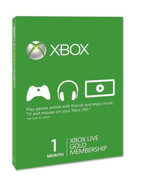 Microsoft Xbox 360 LIVE Gold 1 Month Membership | Microsoft Xbox 360 LIVE | Scoop.it