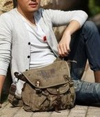 mens canvas cross body bags | personalized canvas messenger bags and backpack | Scoop.it