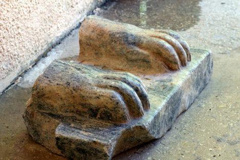 Sphinx Fragment of Pharaoh Menkaure Found in Israel - Sci-News.com | Centro de Estudios Artísticos Elba | Scoop.it