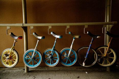 Tools to Help Japanese Schoolchildren Find Balance: Unicycles | Integrated Practice | Scoop.it