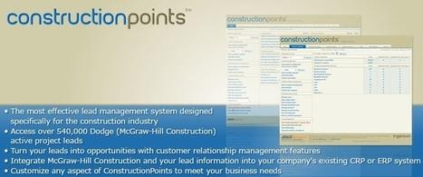ConstructionPoints: Herramienta cloud (SaaS) para la gestión de leads en la construcción | Construcción | Scoop.it