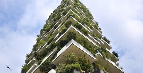 Toren met verticale tuinen is beste hoge gebouw 2015 | Built Environment | Zuyd Bibliotheek | Scoop.it