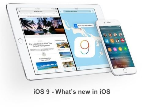 What's new enhancements in Apple's iOS 9? | iPhone Applications Development | Scoop.it