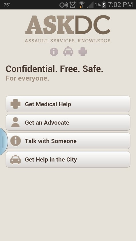 City launches new app for sexual assault victims - Washington Post (blog) | Self Defense | Scoop.it