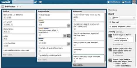 En la nube TIC: Trello: organiza fácilmente los equipos de trabajo | educacontec | Scoop.it