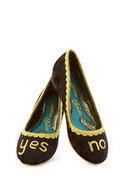 Irregular Choice Decisively Dramatic Wedge | Mod Retro Vintage Heels | ModCloth.com | Mode et fashion | Scoop.it