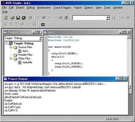 AVR Programowanie w C - Pierwszy program w C | Programowanie, algorytmy, bazy danych | Scoop.it