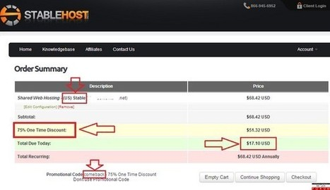 Stablehost CouponS Discount 2014. 50% OFF FOR LiFE | gameavatar | Scoop.it
