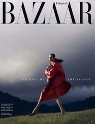 Aymeline Valade for Harper's Bazaar US | TAFT: Trends And Fashion Timeline | Scoop.it
