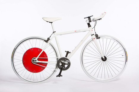 Copenhagen Wheel : la roue qui stocke de l'énergie | Innovation & Sport | Scoop.it